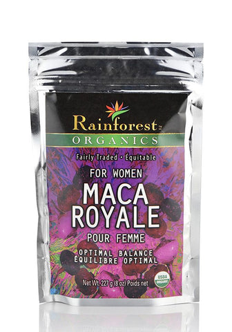 Organic Maca Powder - Royale For Women - Gelatinized - 227 g - Organic Rainforest Company