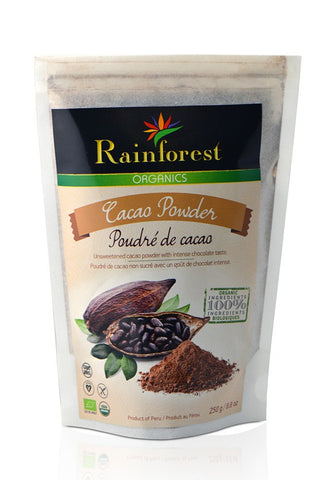 Cacao Powder - 250 grams - Organic Rainforest Company