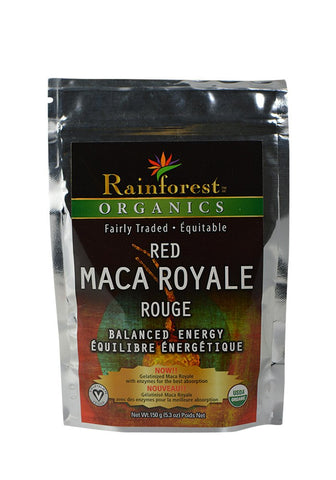 Organic Maca Powder - Red Gelatinized - 150 g - Organic Rainforest Company