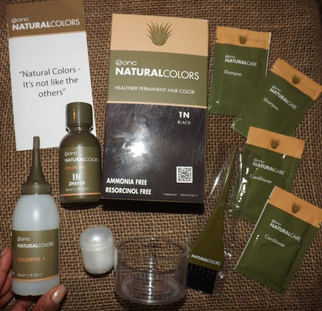 Evcurlgurl blog ONC: ORGANIC NATURAL COLORS,  A HEALTHIER PERMANENT HAIR COLOR
