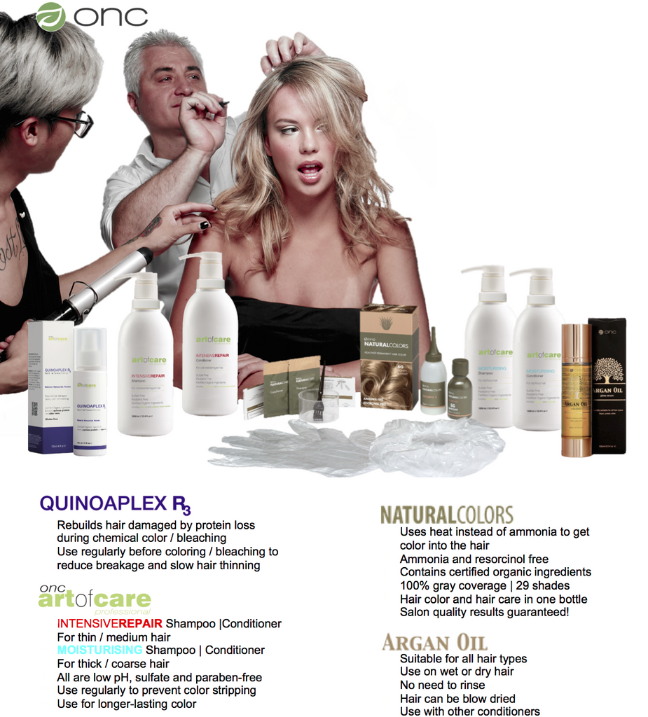 ONC Color and Care Range