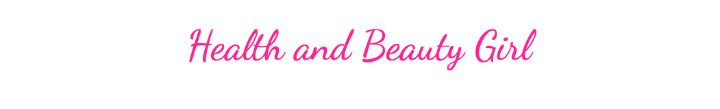 Health and Beauty Girl Blog Logo