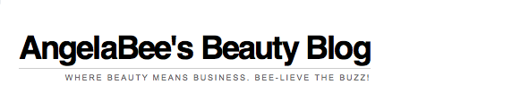 AngelaBee's Beauty Blog Logo