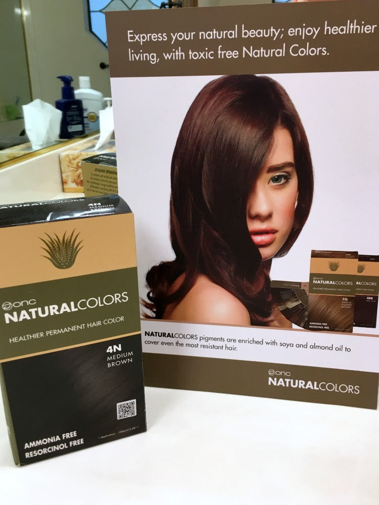 ONC Coloring Products, a Natural Hair Color that's Healthier