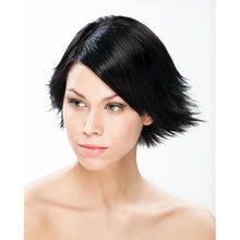 Load image into Gallery viewer, ONC NATURALCOLORS 1N Natural Black Hair Dye With Organic Ingredients Modelled By A Girl