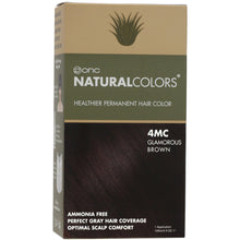 Load image into Gallery viewer, ONC NATURALCOLORS 4MC Glamorous Brown Hair Dye With Organic Ingredients 120 mL / 4 fl. oz.