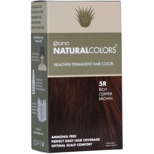 ONC NATURALCOLORS 5R Rich Copper Brown Hair Dye