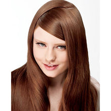 Load image into Gallery viewer, ONC NATURALCOLORS 6KR Chocolate Brown Red Hair Dye With Organic Ingredients Modelled By A Girl