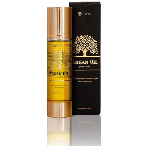ONC artofcare Argan Oil Gloss Serum 100 ml / 3.5 US fl. oz. Bottle And Box