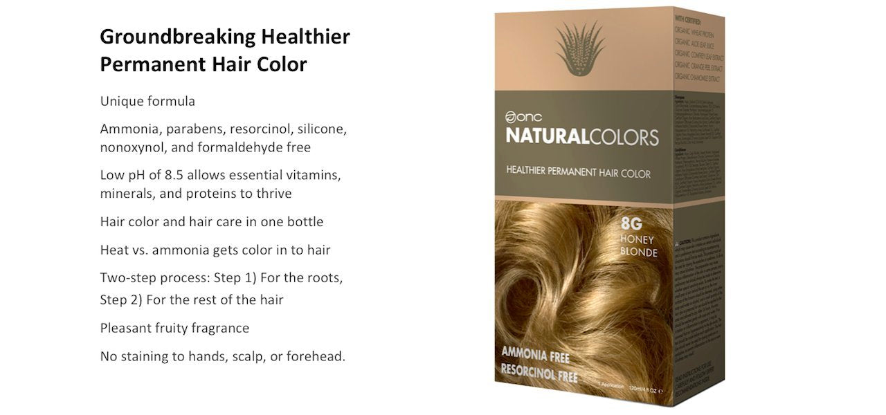 ONC NATURALCOLORS Groundbreaking Healthier Hair Color