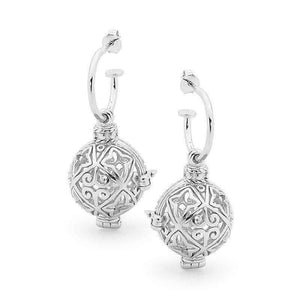 Load image into Gallery viewer, Silver Earrings, Enchanted Perfumed Jewelry