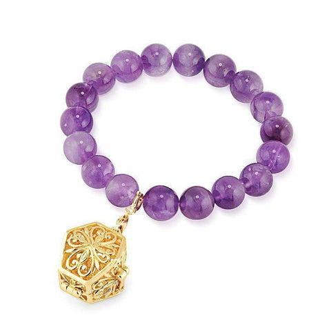 Bead Perfumed Bracelet - Eternity Gold