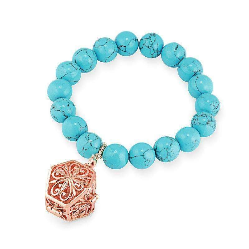 Bead Perfumed Bracelet - Eternity Rose Gold