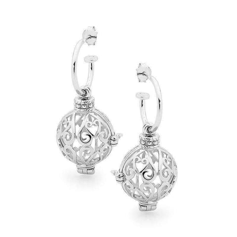 Silver Earrings, Harmony Perfumed Jewelry