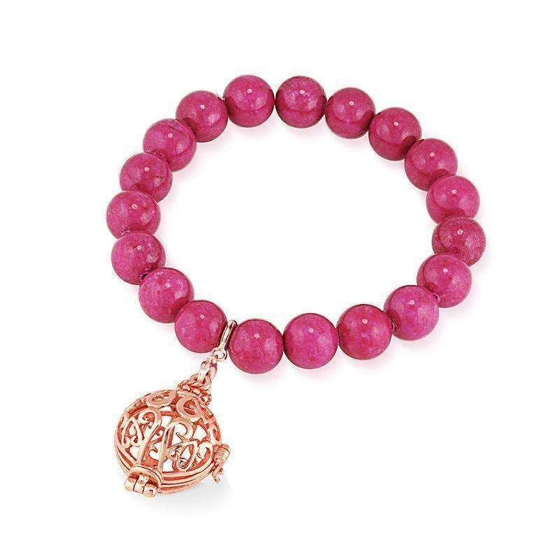 Bead Perfumed Bracelet - Harmony Rose Gold