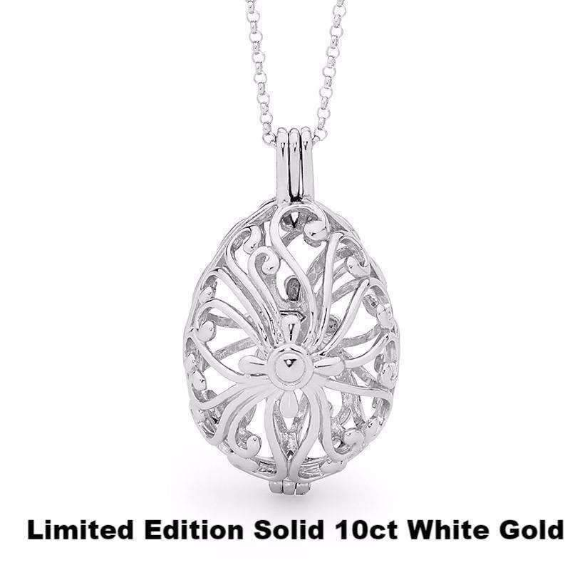 Limited Edition Tranquility - Solid 10ct White Gold