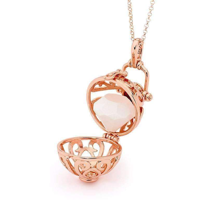 Perfumed Jewelry Harmony Rose Gold Pendant