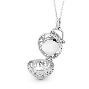 Silver Necklace, Enchanted Perfumed Jewelry