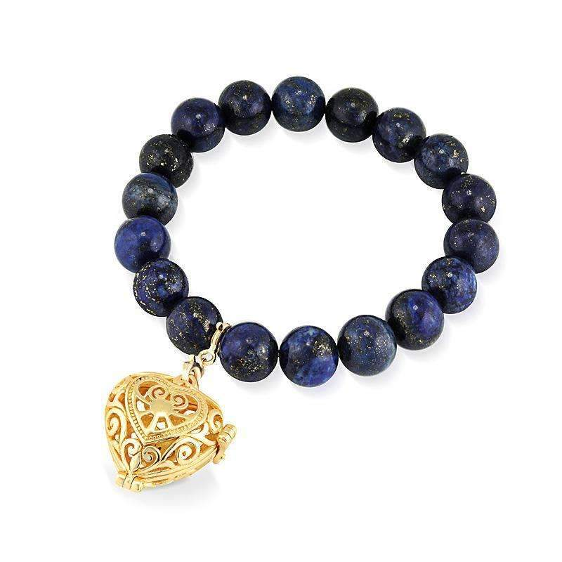 Bead Perfumed Bracelet - Passion Gold