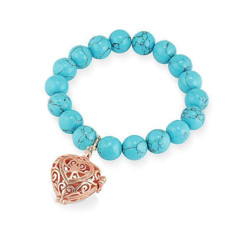 Bead Perfumed Bracelet - Passion Rose Gold