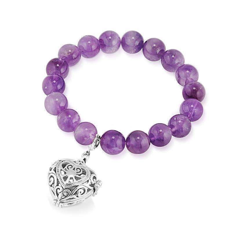 Load image into Gallery viewer, Amethyst Bracelet