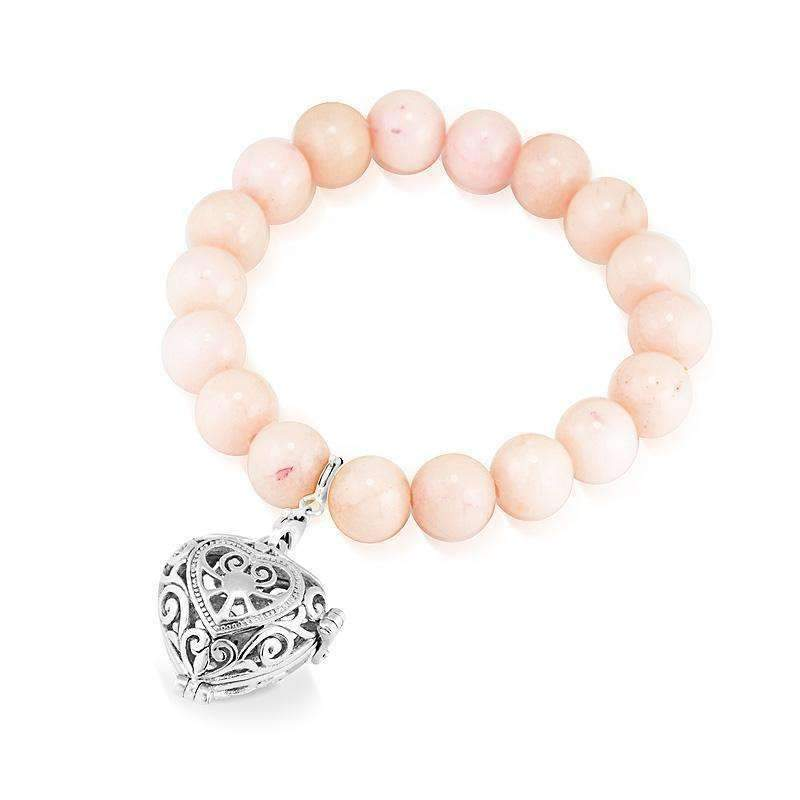 Load image into Gallery viewer, Pink Jade Bracelet