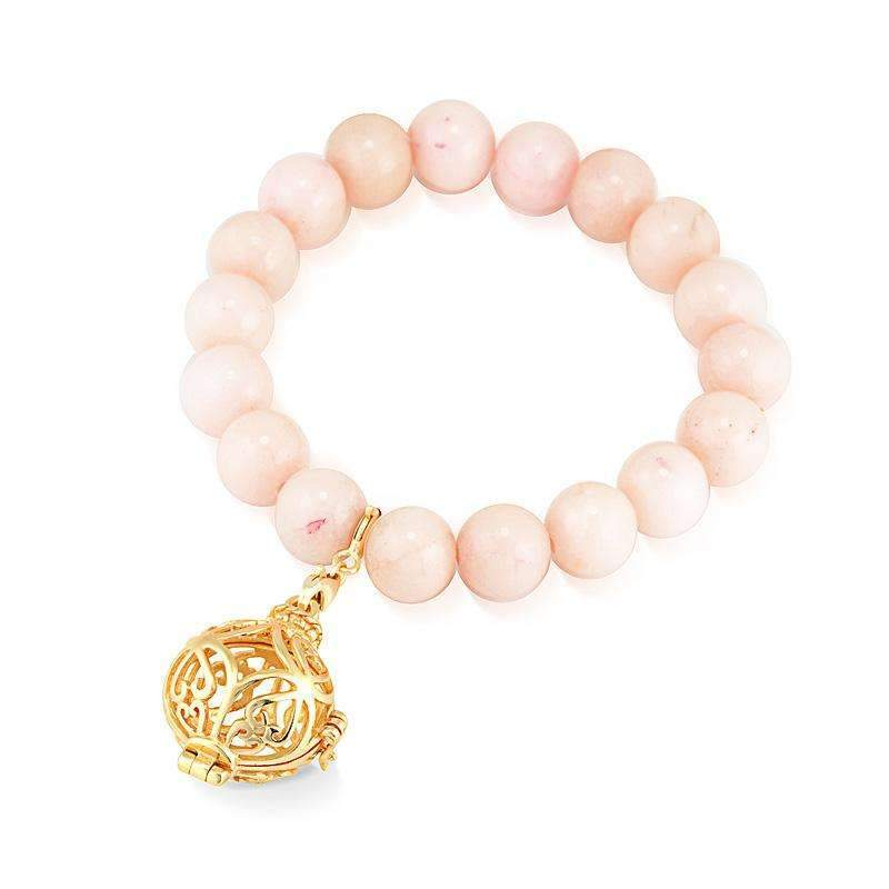 Bead Perfumed Bracelet - Prosperity Gold