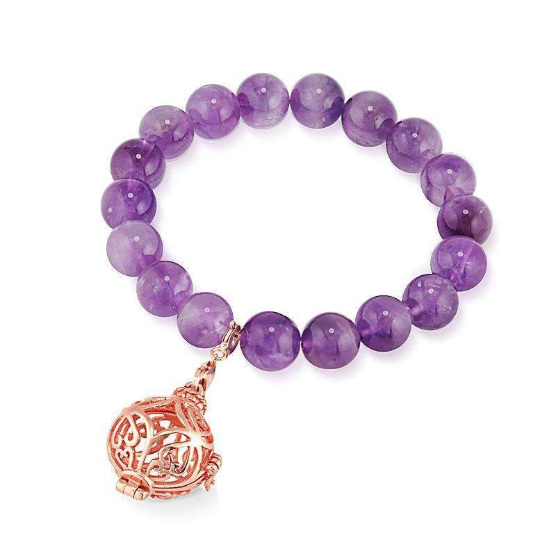 Bead Perfumed Bracelet - Prosperity Rose Gold