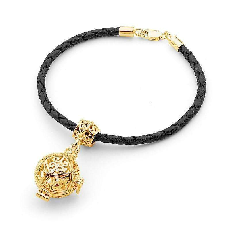 Gold Bracelet, Enchanted Perfumed Jewelry