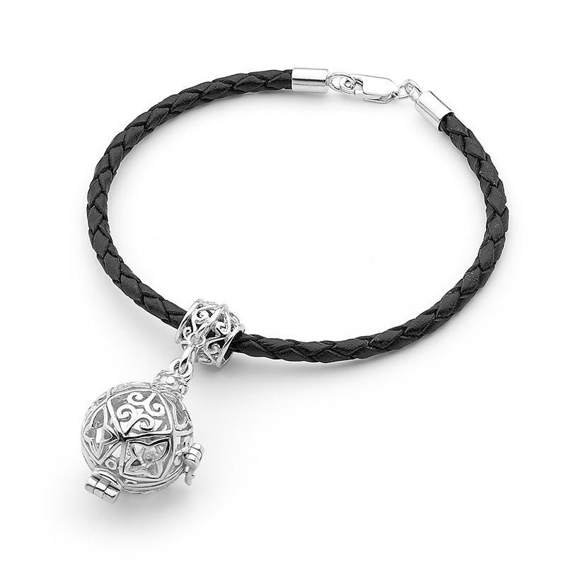 Load image into Gallery viewer, Silver Bracelet, Perfumed Jewelry