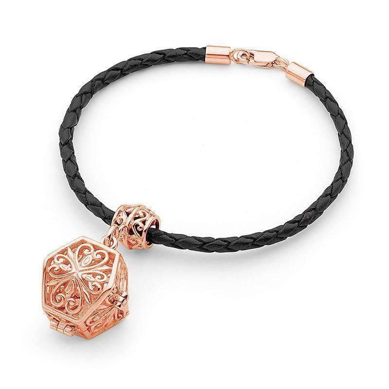 Rose Gold Bracelet, Eternity Perfumed Jewelry