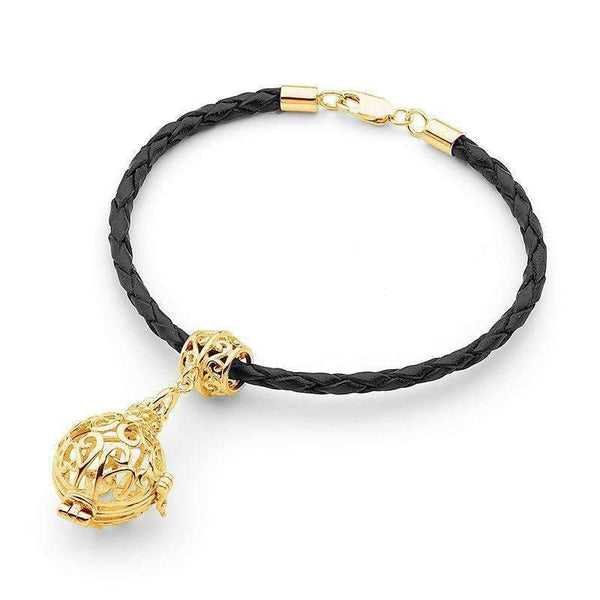 Gold Bracelet, Harmony Perfumed Jewelry