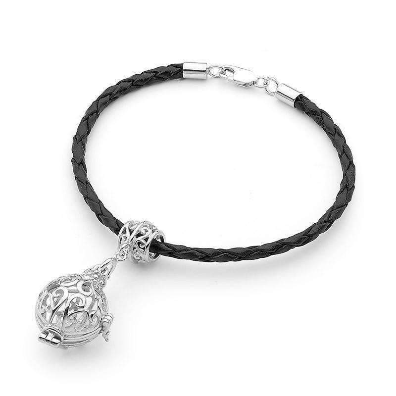 Load image into Gallery viewer, Silver Bracelet, Harmony Perfumed Jewelry