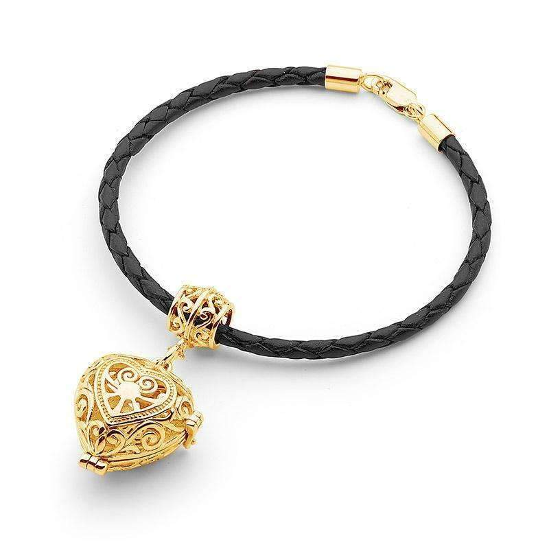 Load image into Gallery viewer, Gold Heart Bracelet