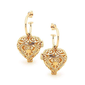 Gold Passion Perfumed Earrings
