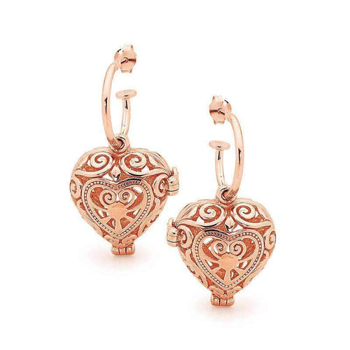 Rose Gold Passion Perfumed Earrings