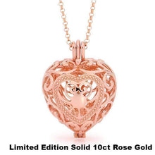 Load image into Gallery viewer, Rose Gold, Heart Pendant