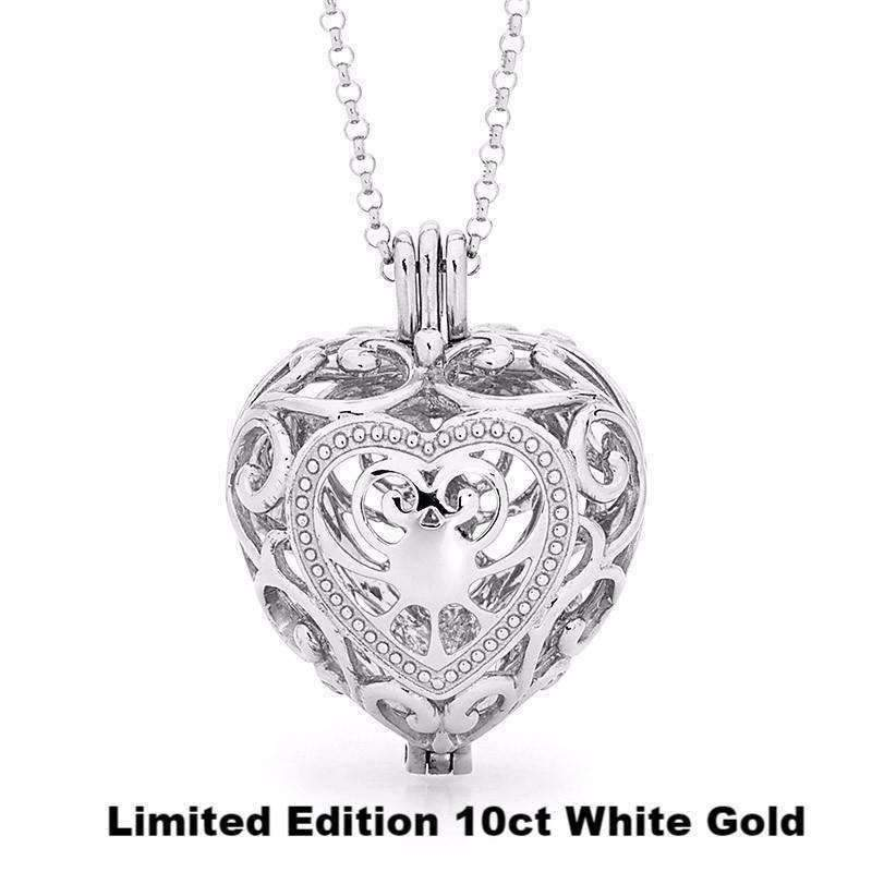 Limited Edition Passion - Solid 10ct White Gold