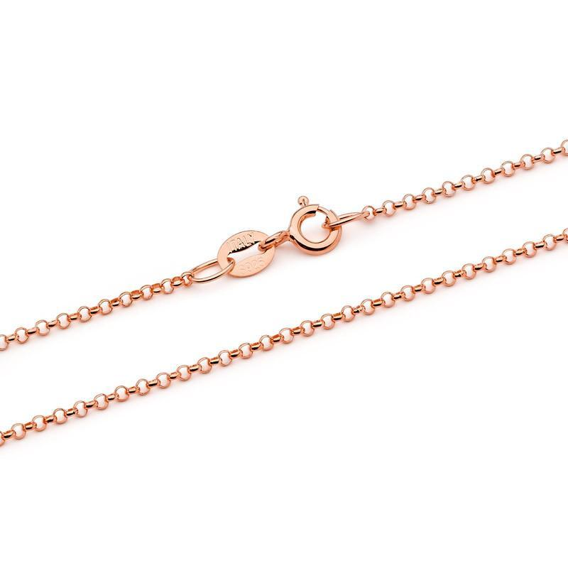 Perfumed Jewelry Enchanted Rose Gold Necklace