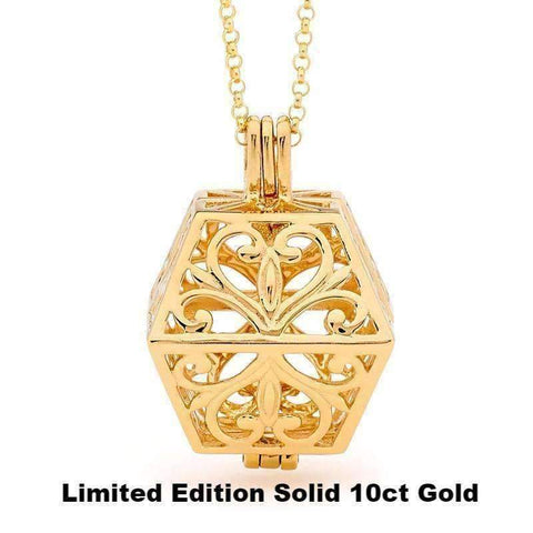 Limited Edition Eternity - Solid 10ct Gold - Perfumed Jewelry