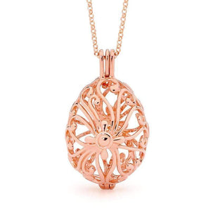 Perfumed Jewelry Tranquility Rose Gold Pendant