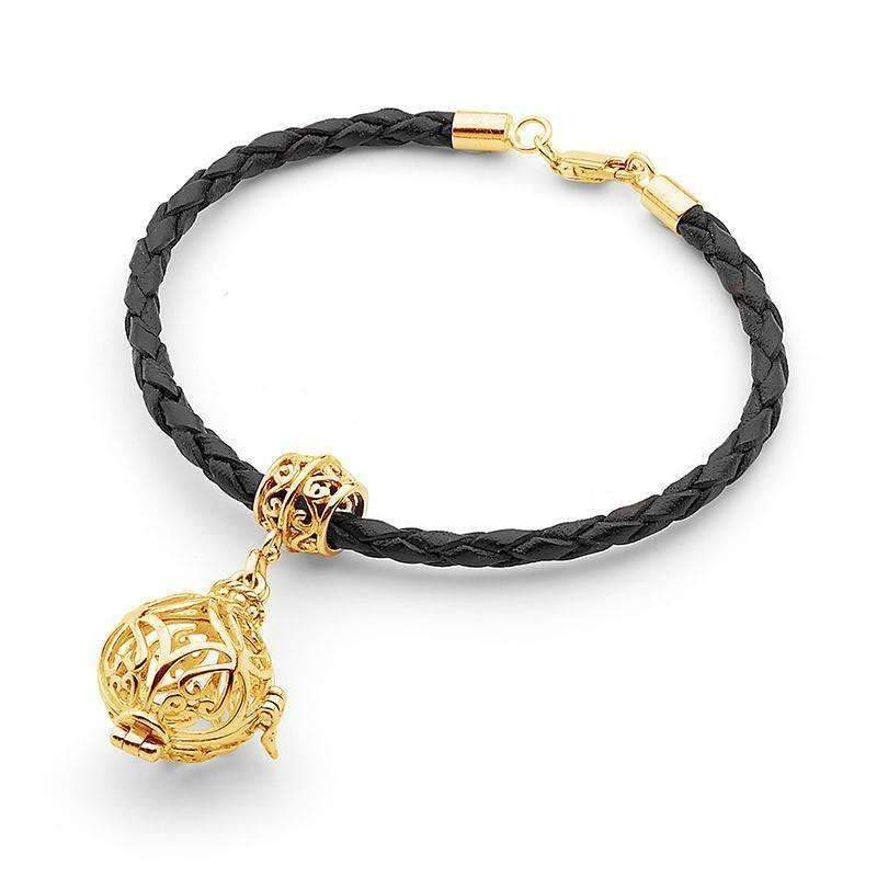 Gold Bracelet, Prosperity Perfumed Jewelry