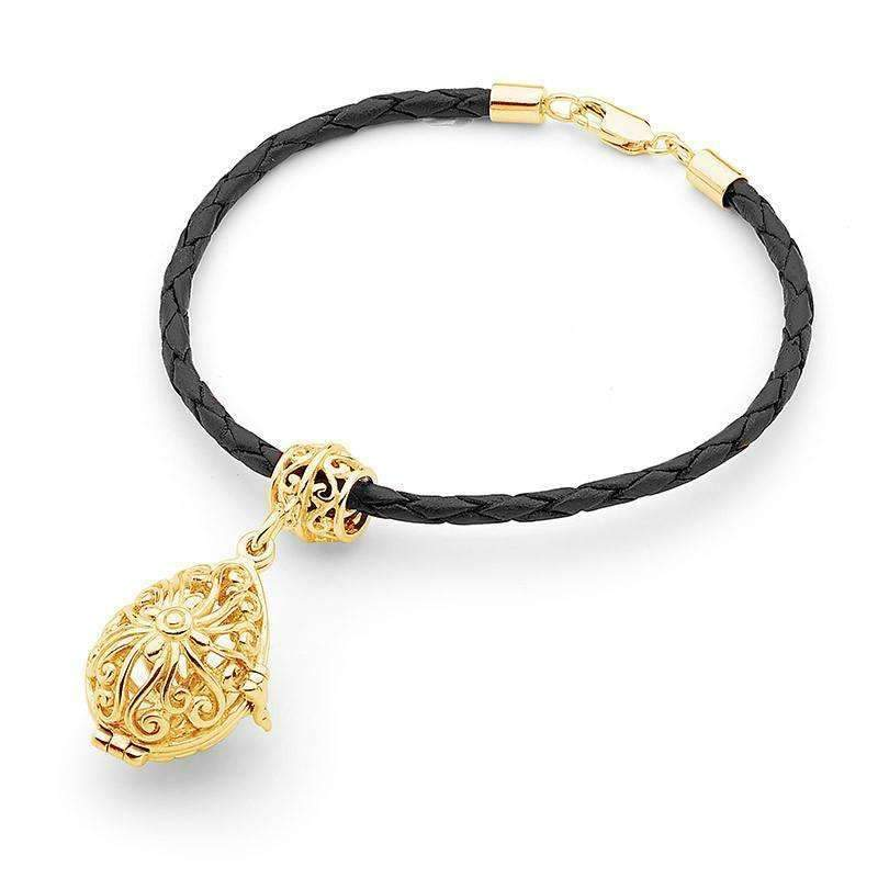 Load image into Gallery viewer, Gold Bracelet, Tranquility Perfumed Jewelry