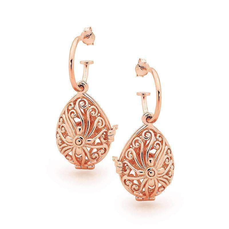 Earrings - Tranquility Rose Gold