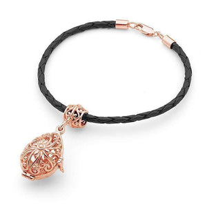 Rose Gold Bracelet, Tranquility Perfumed Jewelry