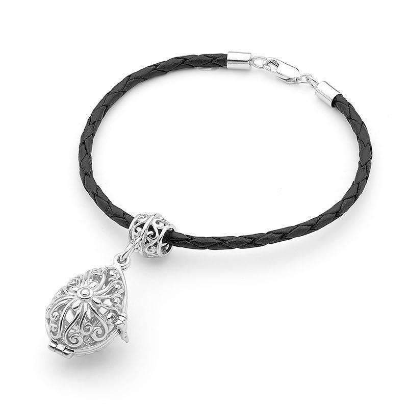 Load image into Gallery viewer, Silver Bracelet, Tranquility Perfumed Jewelry
