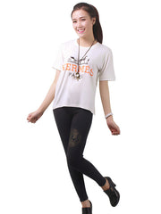 Wide T-shirt female form