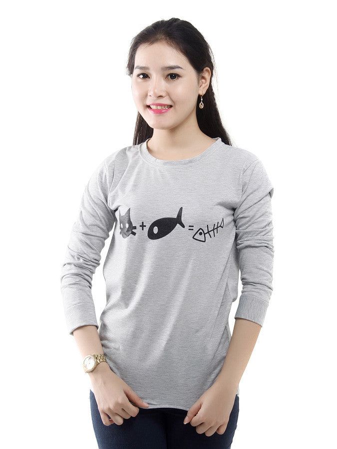 Women's long-sleeved
