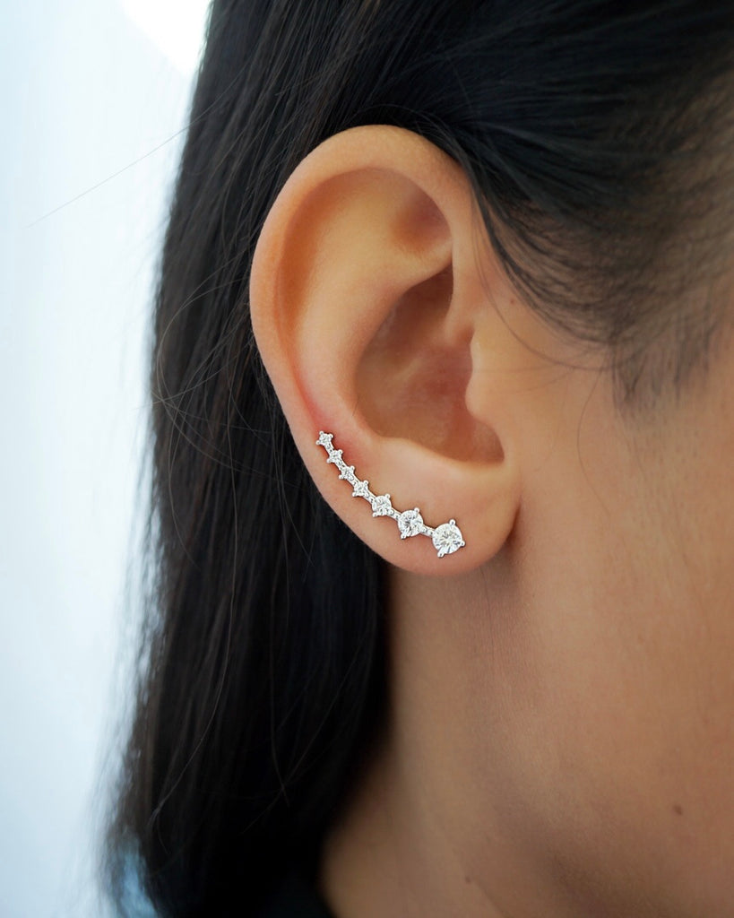 Climber Diamond Earrings
