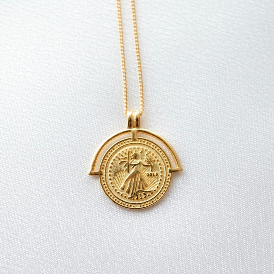 American Coin Necklace